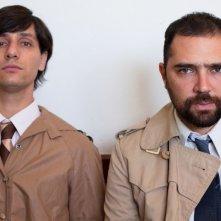 Los Dueños: i due registi Agustín Toscano ed Ezequiel Radusky in una foto promozionale