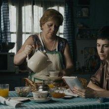 Los Dueños: Rosario Bléfari in una scena del film