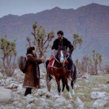 My Sweet Pepperland: Golshifteh Farahani in un'immagine tratta dal film insieme a Korkmaz Arslan