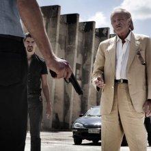 Salvo: Mario Pupella in una tesa scena del film