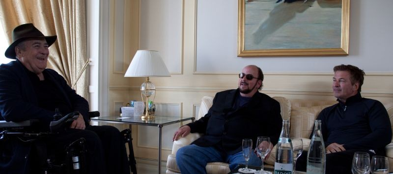 Seduced And Adandoned Il Regista James Toback Con Alec Baldwin E Bernardo Bertolucci In Una Scena De 275229
