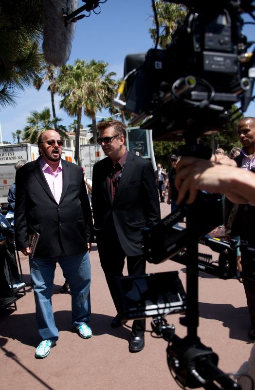 Seduced And Adandoned Il Regista James Toback Con Alec Baldwin Sul Set 275230