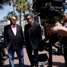 Seduced And Adandoned: il regista James Toback con Alec Baldwin sul set