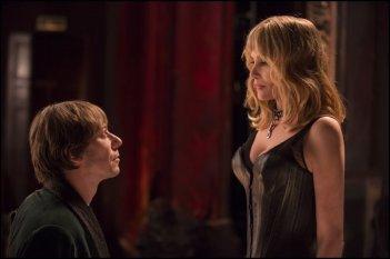 Venere in pelliccia: Emmanuelle Seigner e Mathieu Amalric in un'immagine del film
