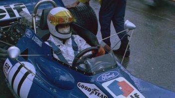 Weekend of a Champion: il pilota Jackie Stewart in una scena del documentario