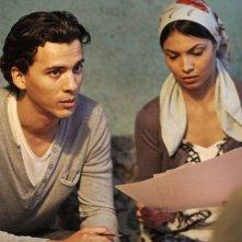 Homeland: Tewfik Jallab e Zineb Obeid in una scena