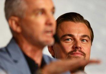 Leonardo DiCaprio presenta Il grande Gatsby a Cannes 2013 con Baz Luhrmann