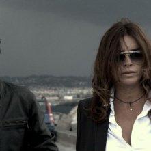 Nero infinito: Francesca Rettondini insieme a Rosario Petix in un'immagine del film