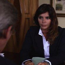Nero infinito: la protagonista del film Francesca Rettondini in una scena del film