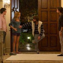 Una notte da leoni 3: Ed Helms, Zach Galifianakis, Heather Graham e Bradley Cooper in una scena del film