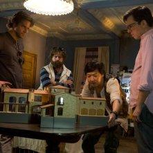 Una notte da leoni 3: Ed Helms, Zach Galifianakis, Ken Jeong e Bradley Cooper in una scena del film