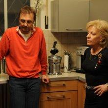 Il Caso Kerenes: il regista Calin Peter Netzer insieme a Luminita Gheorghiu sul set