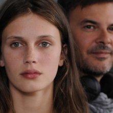 Jeune et jolie: la protagonista Marine Vacth in una foto promozionale insieme al regista  François Ozon