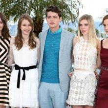 The Bling Ring: il cast del film durante il photocall al Festival di Cannes 2013