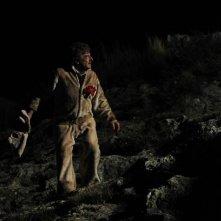 Ti ho cercata in tutti i necrologi: Giancarlo Giannini in una concitata scena del film
