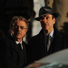 Ti ho cercata in tutti i necrologi: il regista e interprete del film Giancarlo Giannini in una scena con F. Murray Abraham
