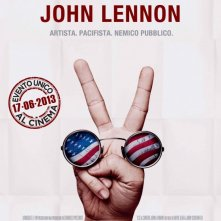 U.S.A. contro John Lennon: la locandina dell'evento cinematografico