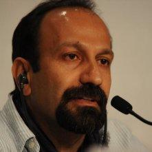 The Past: il regista Asghar Farhadi durante la conferenza stampa al Festival di Cannes 2013