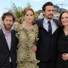 As I Lay Dying: il cast del film insieme al regista e interprete James Franco al photocall di Cannes 2013