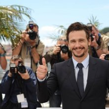 As I Lay Dying: il regista e interprete James Franco al photocall di Cannes 2013