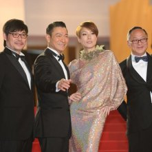 Blind Detective: Andy Lau e Sammi Cheng insieme a Johnnie To sul red carpet a Cannes 2013