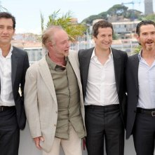 Blood ties: Clive Owen, Guillaume Canet, Billy Crudup e James Caan durante il photocall del film a Cannes 2013