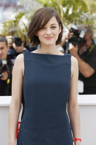Blood ties: Marion Cotillard durante il photocall del film a Cannes 2013