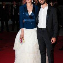 Festival di Cannes 2013 - Berenice Bejo sul red carpet con Tahar Rahim per presentare The Past