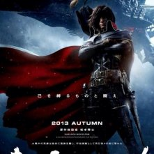 Space Pirate Captain Harlock: la locandina del film
