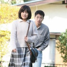The Drudgery Train:  Mirai Moriyama e Atsuko Maeda in una scena del film