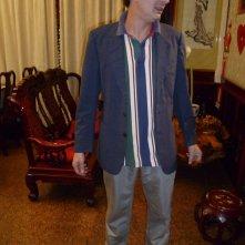 Una vita da sogno: il protagonista Alessandro Paci sul set