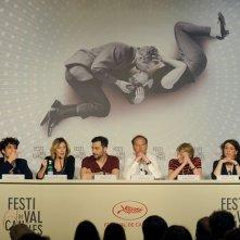 A Castle in Italy: il cast del film durante la conferenza stampa del film a Cannes 2013