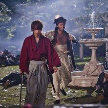 Rurouni Kenshin: Takeru Sato sul campo di battaglia
