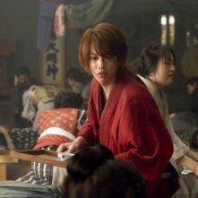 Rurouni Kenshin: un primo piano di Takeru Sato