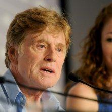 All Is Lost: Robert Redford durante la conferenza stampa del film a Cannes 2013