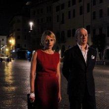 La Grande Bellezza: Isabella Ferrari con Toni Servillo in una scena del film