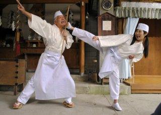 Dead Sushi: Rina Takeda impegnata in combattimento