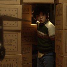 Infanzia clandestina: il giovane Teo Gutiérrez Moreno in una scena
