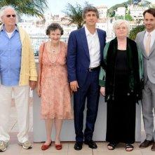 Nebraska: il regista Alexander Payne al photocall di Cannes 2013 insieme al cast del film