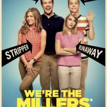 We're the Millers: la locandina del film