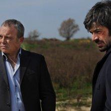 Cha Cha Cha: Claudio Amendola e Luca Argentero in una scena del film