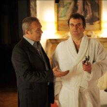 Cha Cha Cha: Claudio Amendola e Pippo Delbono in una scena