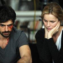 Cha Cha Cha: Luca Argentero ed Eva Herzigova in una scena
