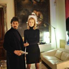 Cha Cha Cha: Luca Argentero in azione insieme ad Eva Herzigova