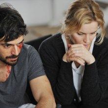 Cha Cha Cha: Luca Argentero in un momento del film con Eva Herzigova