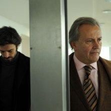 Cha Cha Cha: Luca Argentero insieme a Bebo Storti in una scena del film