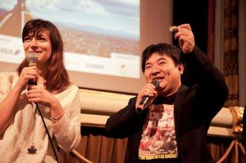 Dead Sushi: a Firenze il regista Noboru Iguchi mostra il merchandise del suo sushi assassino