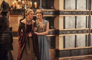 Il trono di spade: Lena Headey e Natalie Dormer in una scena dell'episodio Second Sons