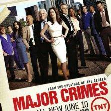 Major Crimes: un poster della stagione 2
