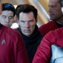 Il villain interpretato da Benedict Cumberbatch si confonde tra la folla in Star Trek Into Darkness